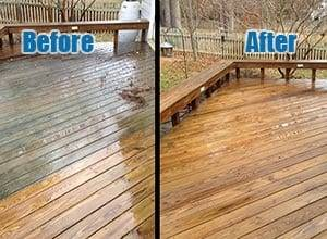 Deck Cleaning Cary NC