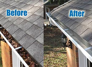 Residential Gutter Cleaning Raleigh NC