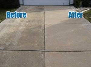 Pressure Washing & Concrete Cleaning in Knightdale NC